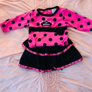 Baby essential infant matching tutu set.